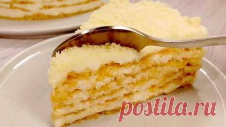 """Часто готовлю для детей вкуснейший торт """"Пломбир"""": очень быстро и совсем не нужна духовка"""