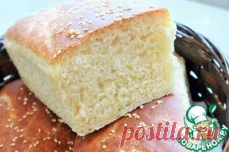 Белый хлеб на сыворотке - кулинарный рецепт