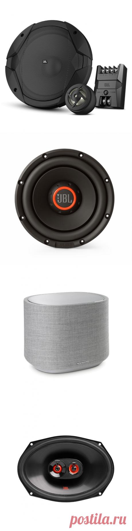 Автомобильная акустика JBL в интернет-магазине, цены - купить акустику для автомобиля в Москве | Harman