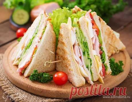 С собой: рецепты сэндвичей в дорогу, на работу и куда угодно