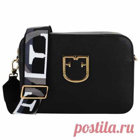 Сумочка с молнией Furla Brava BVE1_onyx - 2000557986923 черный натуральная кожа 25,5 x 18 x 8 Цена 25500 руб. купить в интернет-магазине PanChemodan.ru