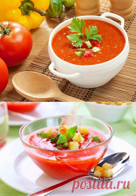Гаспачо - вкусное холодное блюдо для жаркого лета » Женский Мир