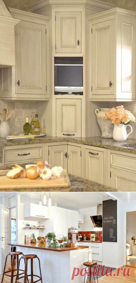 Угловая кухня: рекомендации и советы по обустройству — Мой дом