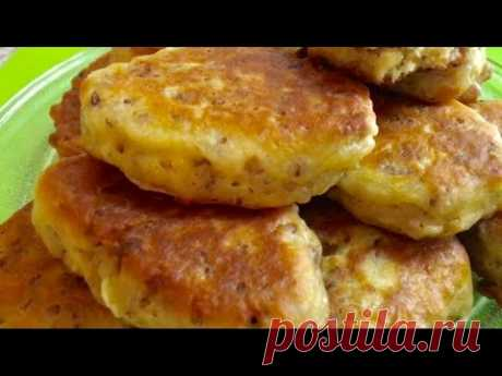 LAZY PIES. MAGNIFICENT MEAT FRITTERS on kefir. I prepare in the Gfgril crock-pot.