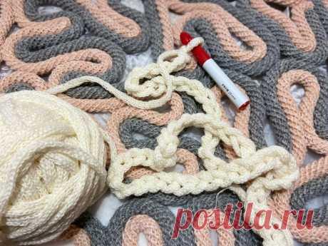 Сделала толстую пряжу за 3 часа и связала нереально объемный дизайнерский шарф. Оцените результат | Мария Мисс | Яндекс Дзен
