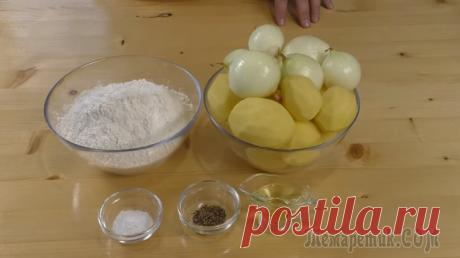 Никогда не выливайте картофельный отвар / Самые ленивые пирожки за 30 минут / Рецепты Другой Кухни