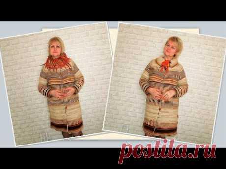 Для тех, кто вяжет: пальто Светланы Дроздецкой