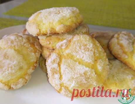 Творожно-лимонное печенье – кулинарный рецепт