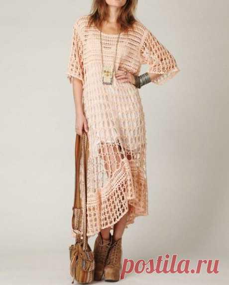 Платья в стиле бохо: модные тренды и красивые образы (60 фото)