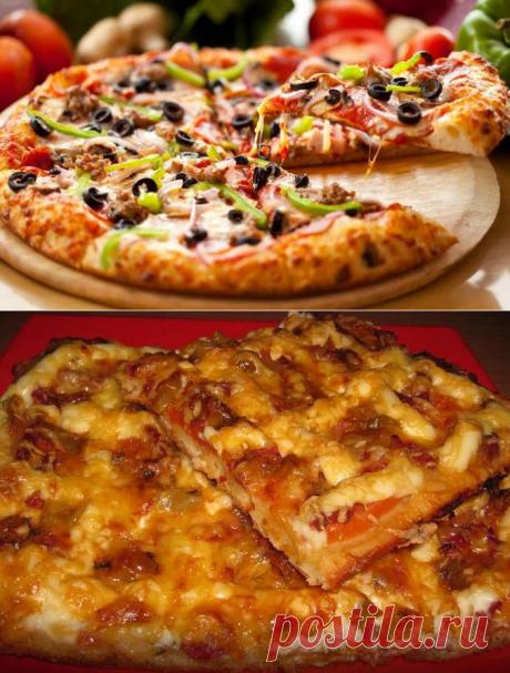 Рецепты домашней пиццы с фаршем: с грибами, сыром, помидорами