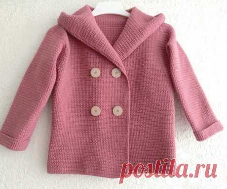 Летнее пальто для девочки - Страна Мам