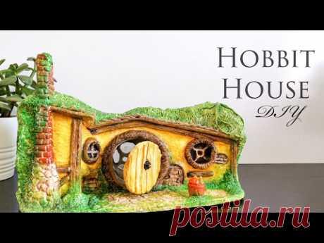 Сделай сам Хоббит Хаус - учебник по воздушной сухой глине