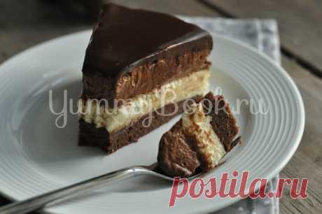 Торт-мусс сливочно-шоколадный