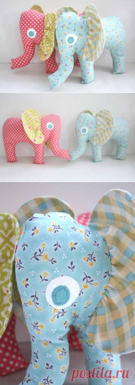 Elephant you do not want to sew? :)