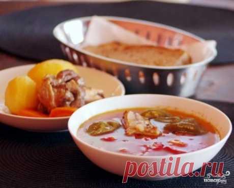 Суп шурпе чувашский - пошаговый рецепт с фото на Повар.ру