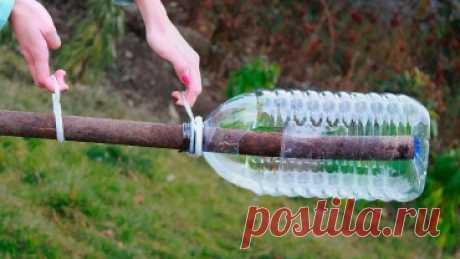 5 невероятно полезных и крутых идей использования бутылок в быту!