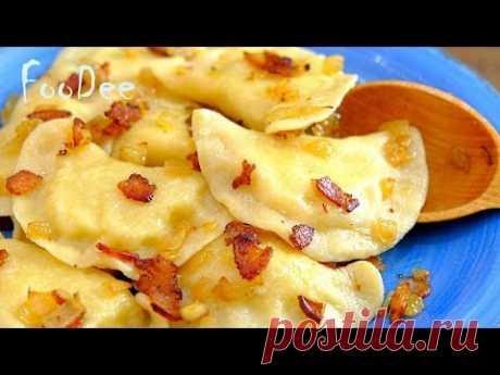 Вареники с картошкой - Вы влюбитесь в это тесто для вареников - Вкусный и простой рецепт!