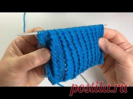 Узор для топика или кардигана / Вязание спицами / Pattern for top, dress. - YouTube