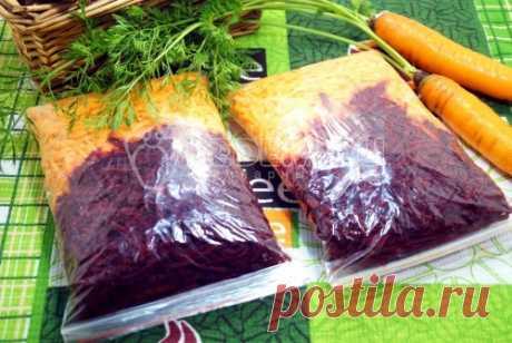 Заморозка для борща Заранее приготовленные тертые овощи сэкономят время и не испортят маникюр. Вы в любое время можете приготовить борщ без хлопот.