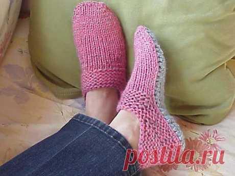 ¿Cómo tejer las zapatillas?