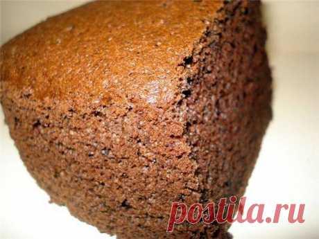 Шоколадный бисквит нежный и воздушный рецепт с фото пошагово - 1000.menu