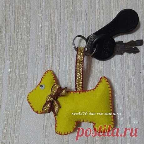 МК - Брелок для ключей МК - Брелок для ключей. Фото, описание изготовления.