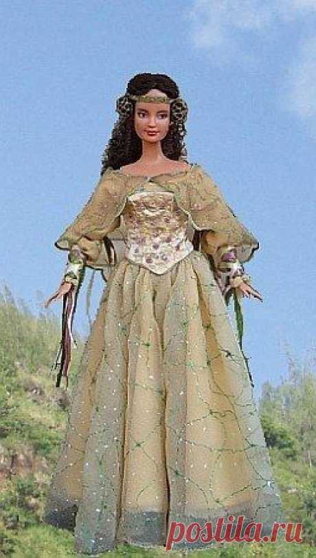 Шьём старинное платье для барби Шьём старинное платье для барбиШьём старинное платье для барби, чтобы кукла могла пойти даже на игрушечный бал.