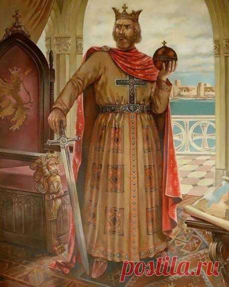 Լևոն Մեծագործ Ռուբինյան (1187/1198-1219 թթ.) Leon Magnificent Rubinyan (1187/1198-1219 y.)  Դիմանկարի հեղինակ Ռուբեն Արուտչյան