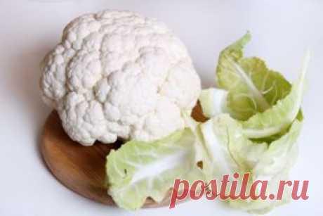 Как заморозить цветную капусту - рецепт с пошаговыми фото / Меню недели