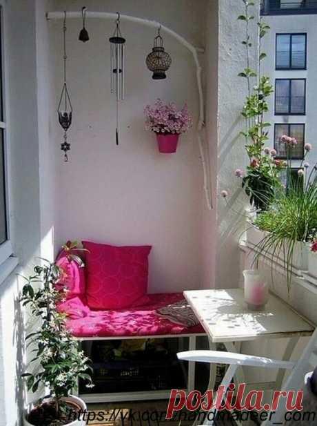 Las ideas para el balcón