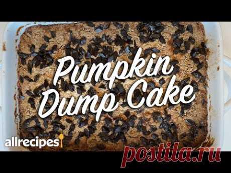 How to make the BEST Fall Pumpkin Dump Cake   Easy Fall Dump Cake Recipe   Allrecipes.com