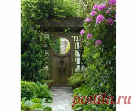 Потрясающий садовый декор в романтическом стиле! 6 простых идей на заметку | Царская усадьба | Яндекс Дзен