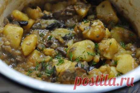 Картошка с фаршем в мультиварке - рецепт с фото / Простые рецепты
