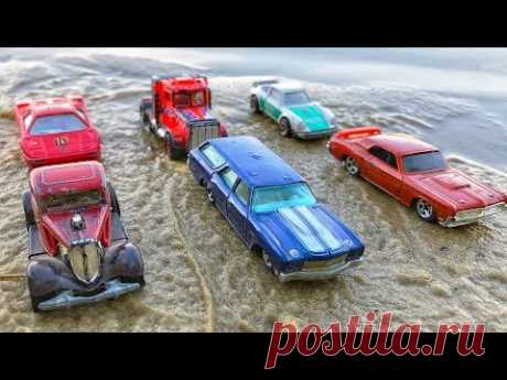 Car Wash Video For Kids. Hot wheels toys videos. غسيل السيارات للأطفال - YouTube