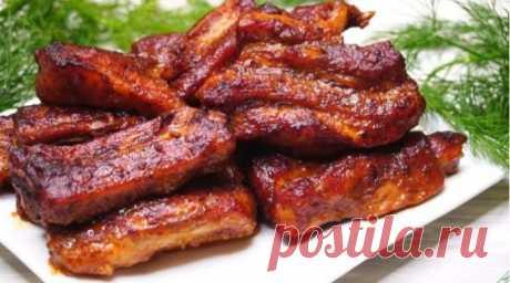 Рецепт смачних свинячих реберець по-канадськи! Відмінна заміна шашлику на Новий Рік! | Лента.news