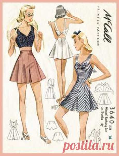 40s 1940s PICK YOUR SIZE bust 32 34 36 38 vintage women's