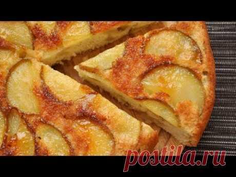 ШАРЛОТКА С ЯБЛОКАМИ Вкусная шарлотка с яблоками Простые рецепты Яблочный пирог рецепт - YouTube
