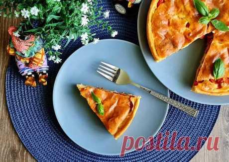 (2) Пирог с томатами - пошаговый рецепт с фото. Автор рецепта Svetlana Kravcenko . - Cookpad