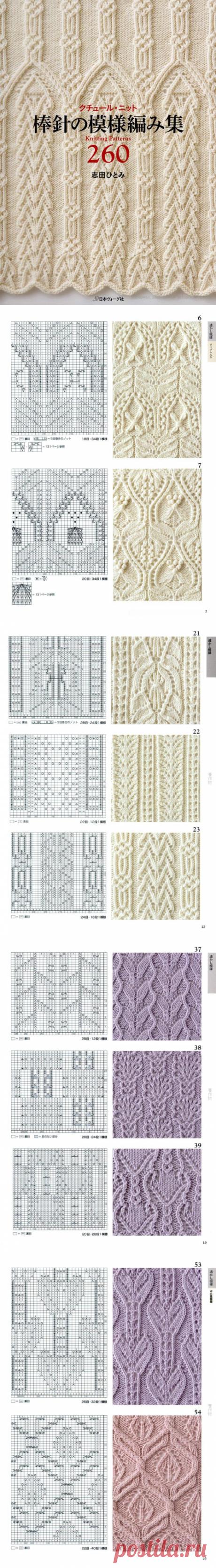 260 patterns spokes