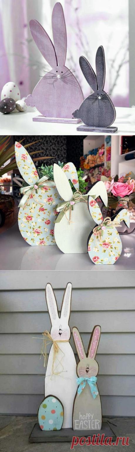 Пасхальные зайцы. Идеи для празднования Светлой Пасхи | Волшебное рукоделие | Яндекс Дзен