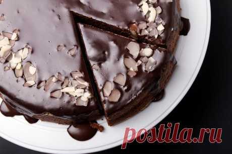 Рецепт орехового торта со сметанным кремом . Милая Я