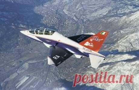 Як-130.Учебно-тренировочный самолёт
