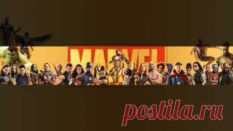 Баннер Мстители марвел, картинка для ютуба, скачать бесплатно на SY