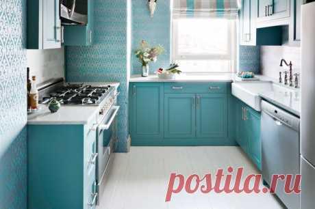 Как создать иллюзию просторной кухни?