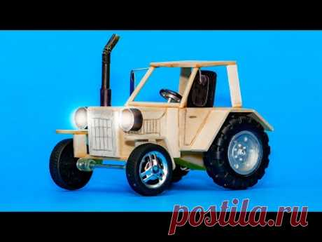 Как сделать ТРАКТОР своими руками. DIY Деревянные ИГРУШКИ. How To Make A Electric Tractor Toy Diy. MastakShow - LifeHacks - это лучшие лайфхаки, самоделки, советы и другие интересные и познавательные видео каждую неделю!  Не забывайте поставить ЛАЙК и ПОДПИСАТЬСЯ на наш канал, чтобы всегда первыми смотреть самые лучшие новые видео, в которых будут: крутые и полезные лайфхаки, поделки, самоделки и другая интересная информация!!! Приятного Вам просмотра и прекрасного настроения! :)