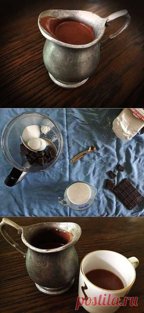 Как приготовить настоящий горячий шоколад!