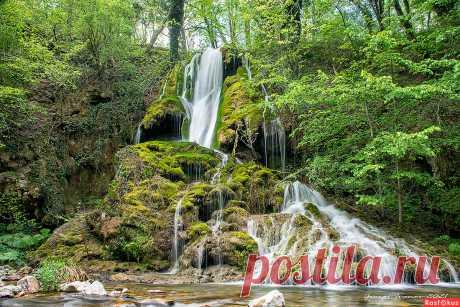 Фото: Водопад. Фотограф Георги Иванов. Пейзаж - Фотосайт Расфокус.ру