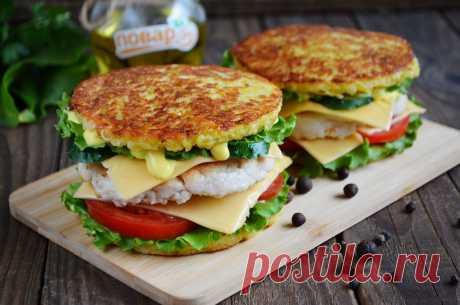 Бульба-бургер или картофельный сэндвич