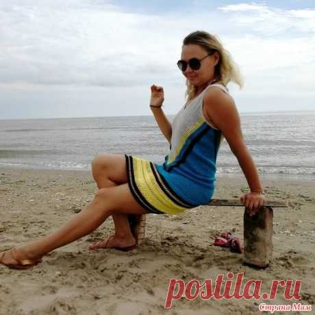 Как я вязала пляжную тунику - Вязание - Страна Мам