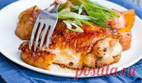 Быстрый ужин: готовим курочку с картофелем «Огонек» (видео)